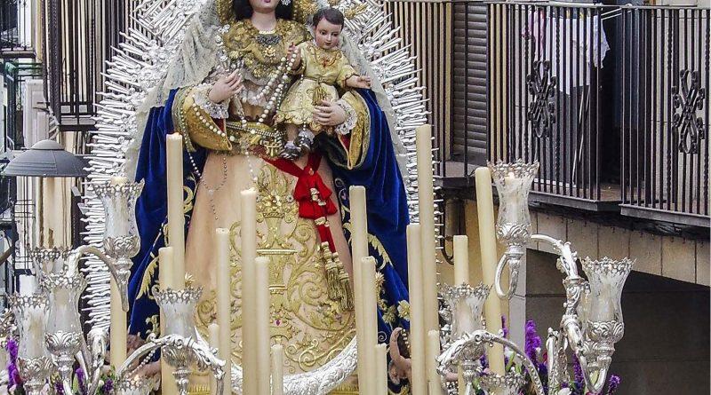 Cultos para la Virgen del Rosario en este año 2020